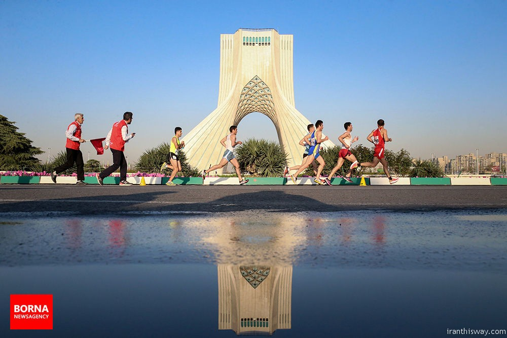 Photo: The 1st Tehran International Marathon- TehRUN 2017