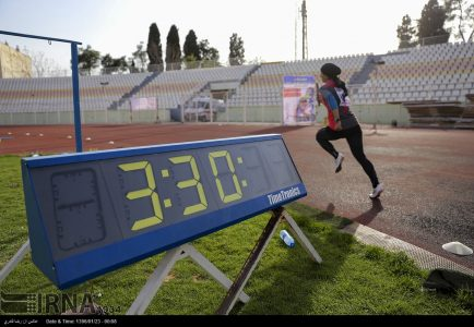 Photo: Iran women athletic championships