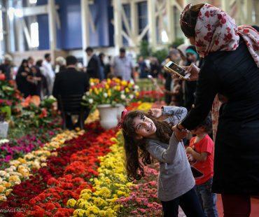 Photo: Tehran Flower Expo