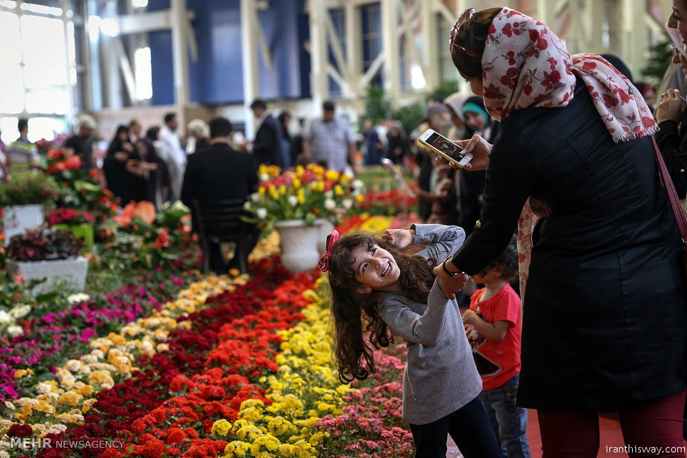 Photo: Tehran Flower Expo