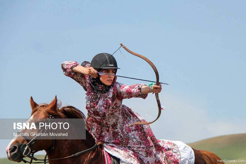 Photo: Iranian Azari nomads festival