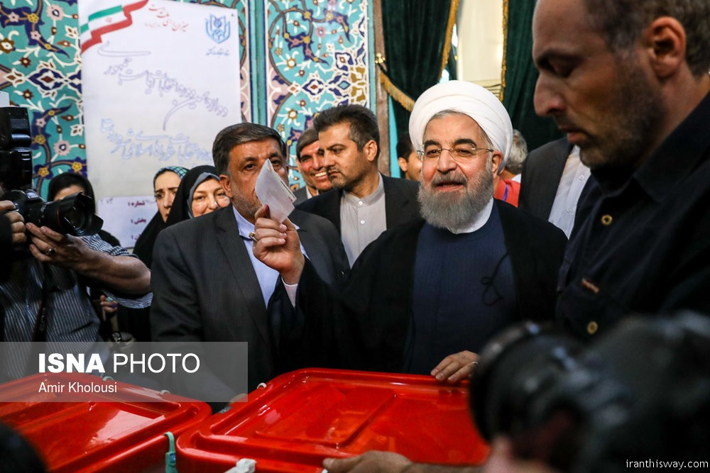 Iranians re-elected Hassan Rouhani as President