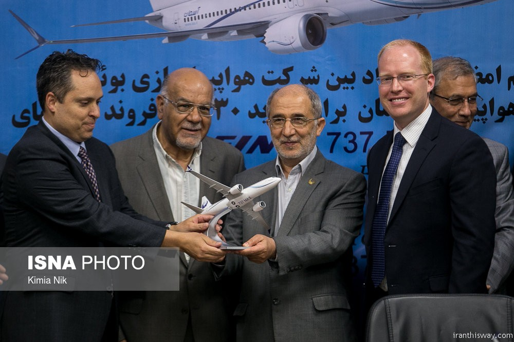 Iran's Aseman airline inks final deal with Boeing