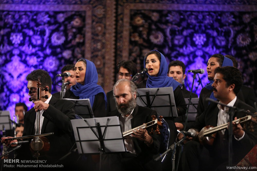 Photo: Iran-Italy joint music performance in Tehan