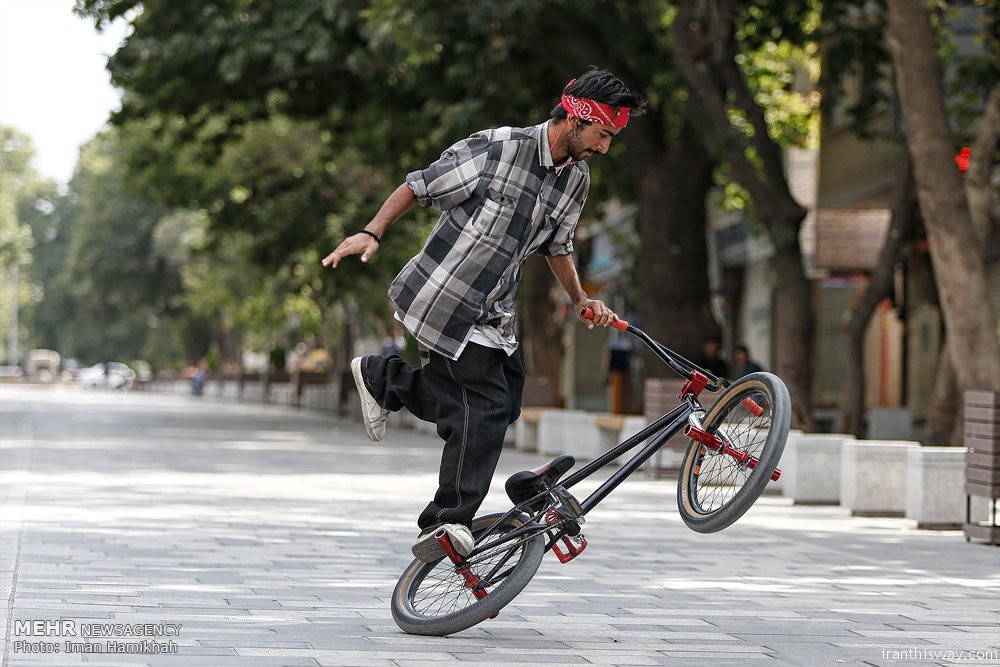 Photo: Hamedan BMX rally