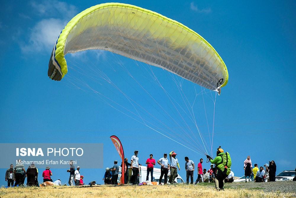 Photo: Iran Paragliding championships