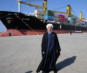 President Rouhani inaugurated Chabahar port to intl. trade corridor