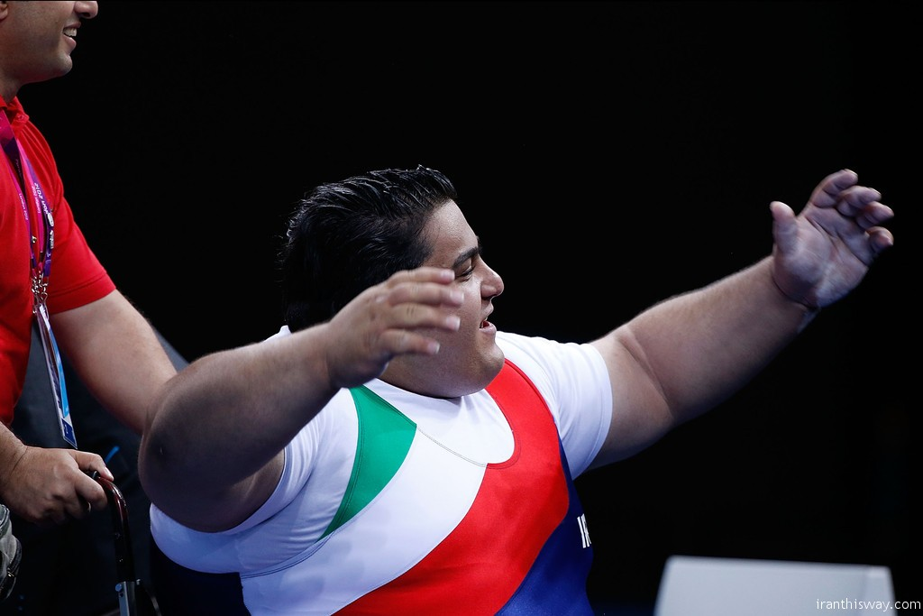 Iran champion of 2017 World Para Powerlifting Championships