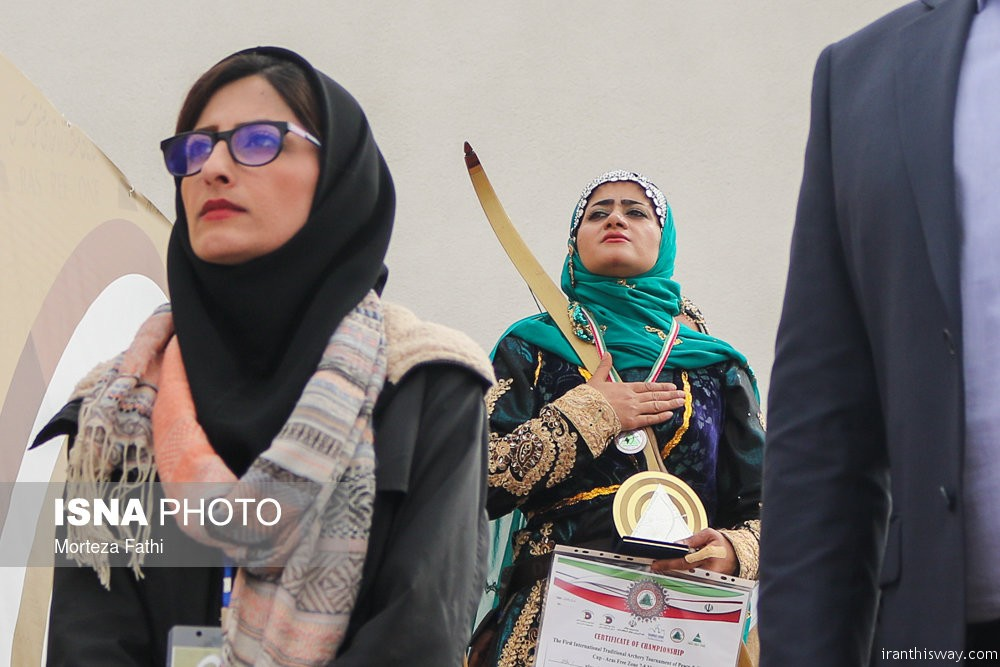 Photo: Iran hosted the int. traditional archery cup
