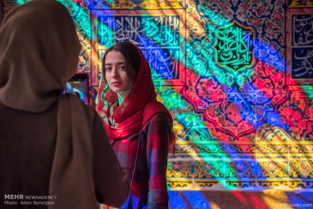 Photo: Fantastic Nasir al-Mulk Mosque