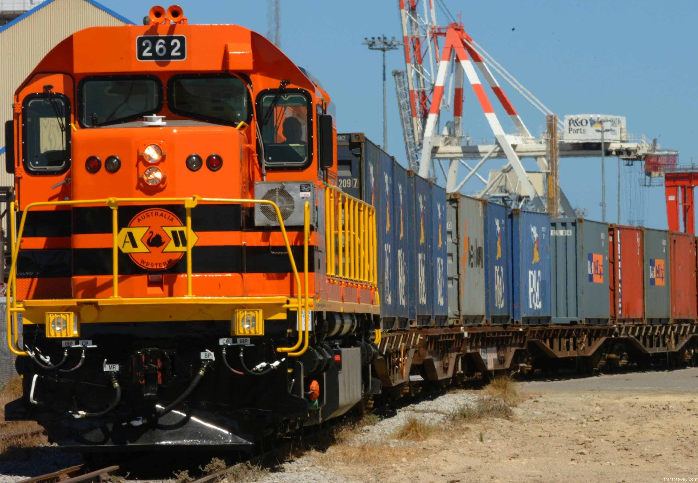 North-south transport corridor started tests
