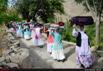 Photo: The Eidi-Baran ceremony in Gilan