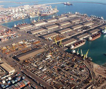 Bushehr Port/ Video