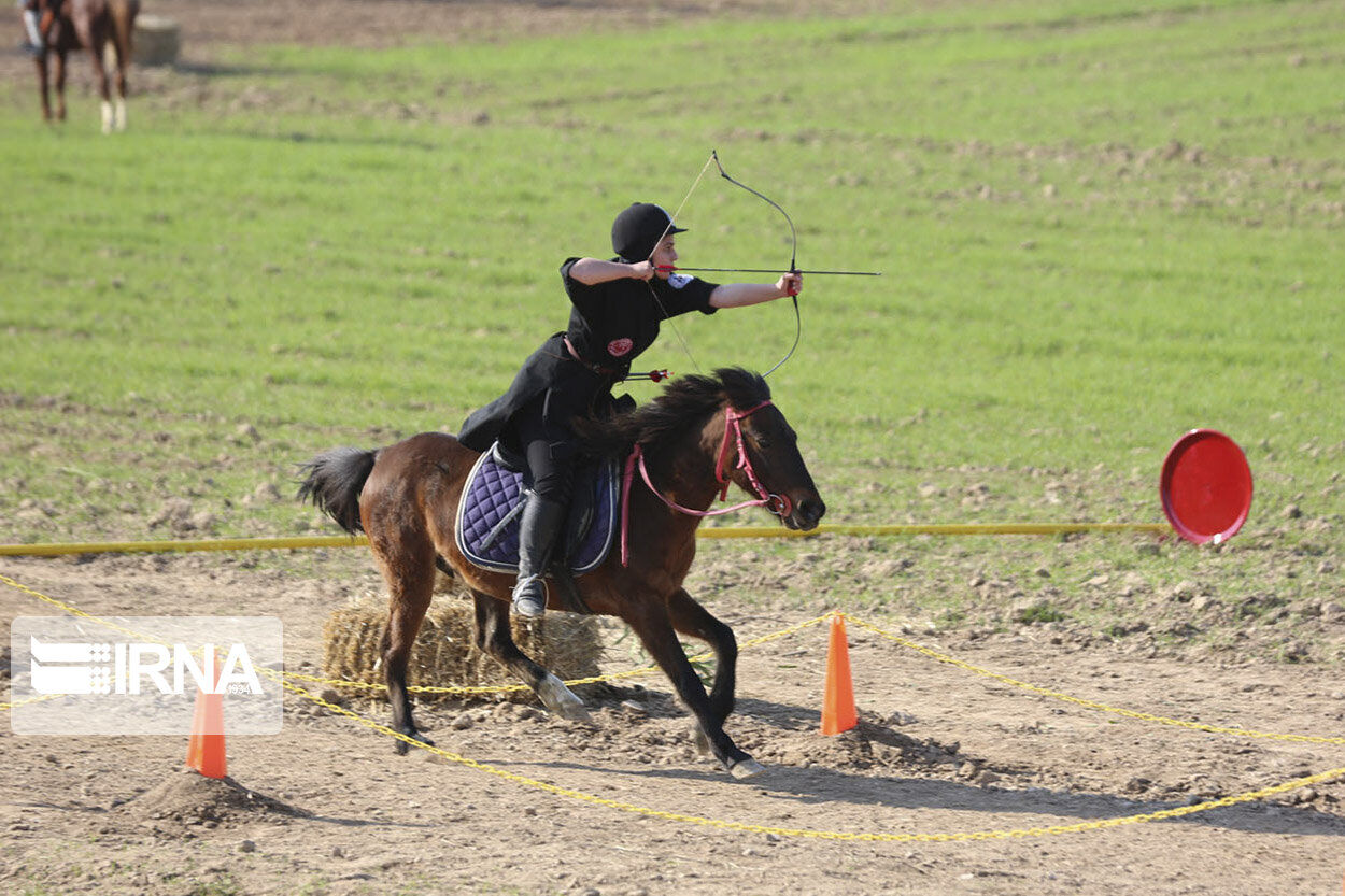 Photo: Horseback Archery in Iran