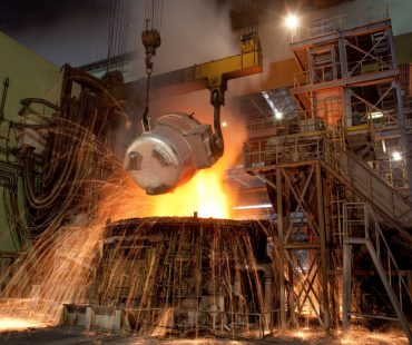 Iran's monthly crude steel output up 14%