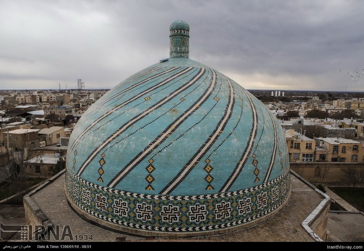 Europeans to cooperate with Iran to restore Jame Mosque of Qazvin