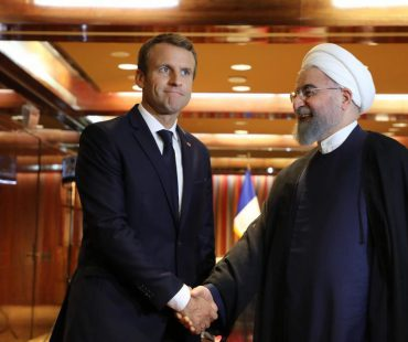 President Rouhani to Macron: Friendly countries must pressure US to lift Iran sanctions amid pandemic