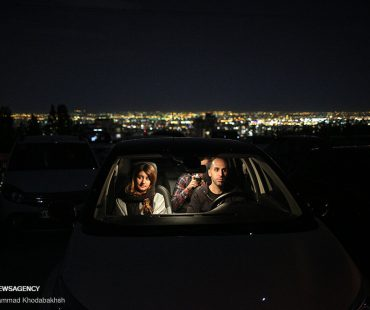 Iran drive-in cinema started again
