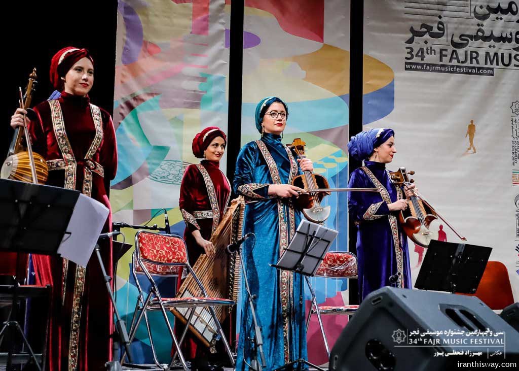 Video| Iranian women music group performed online during Coronavirus