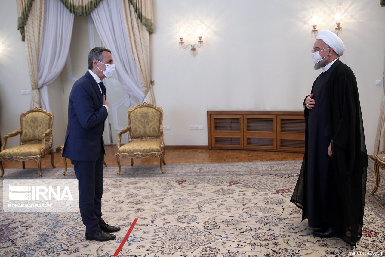 President Rouhani, Swiss FM hold talks in Tehran