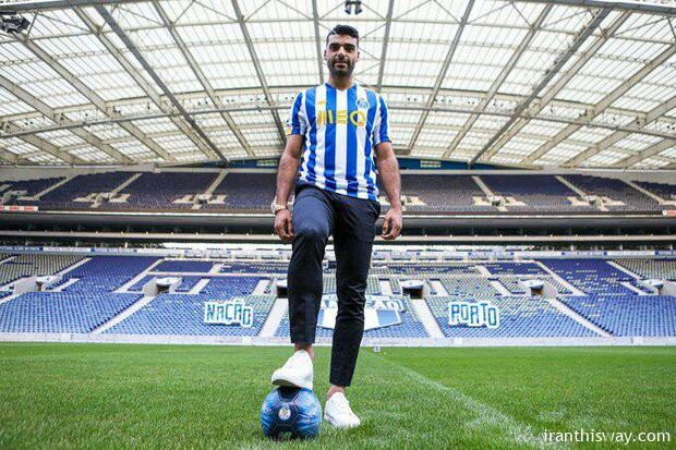 Iranian football player went to Porto